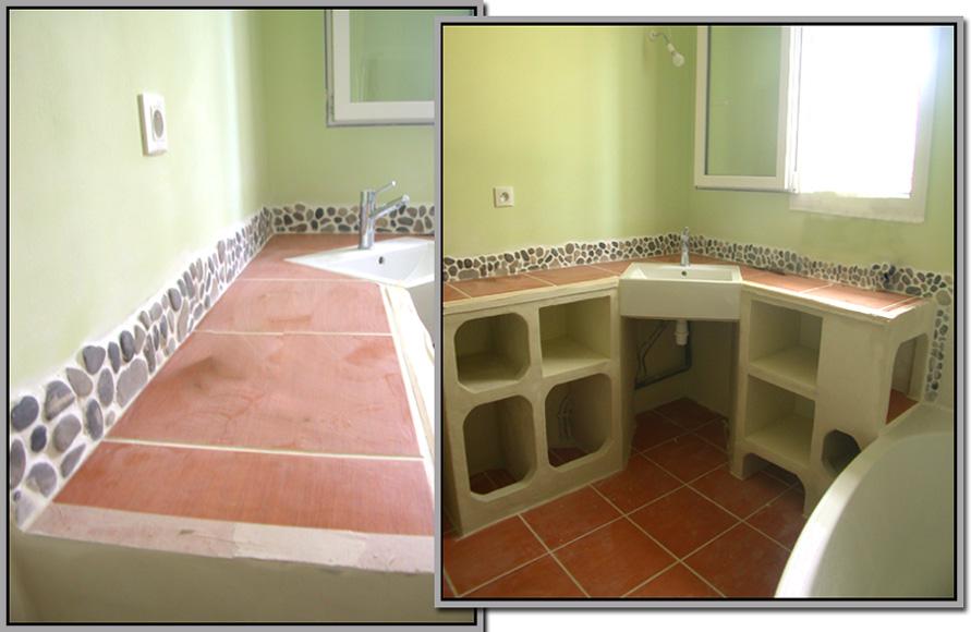 carrel deco salle de bain rivi re. Black Bedroom Furniture Sets. Home Design Ideas